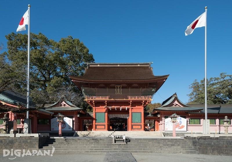 Fujisan Hongu Sengen Taisha, front