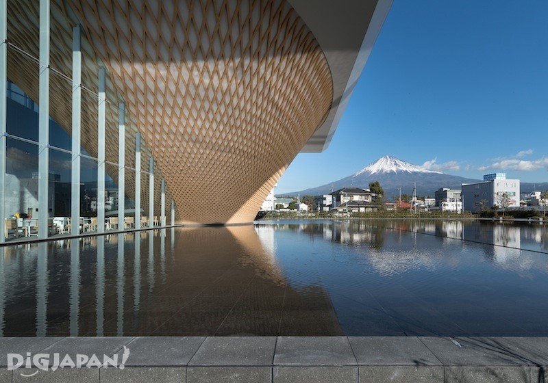 Mt. Fuji World Heritage Centre in Shizuoka, Japan