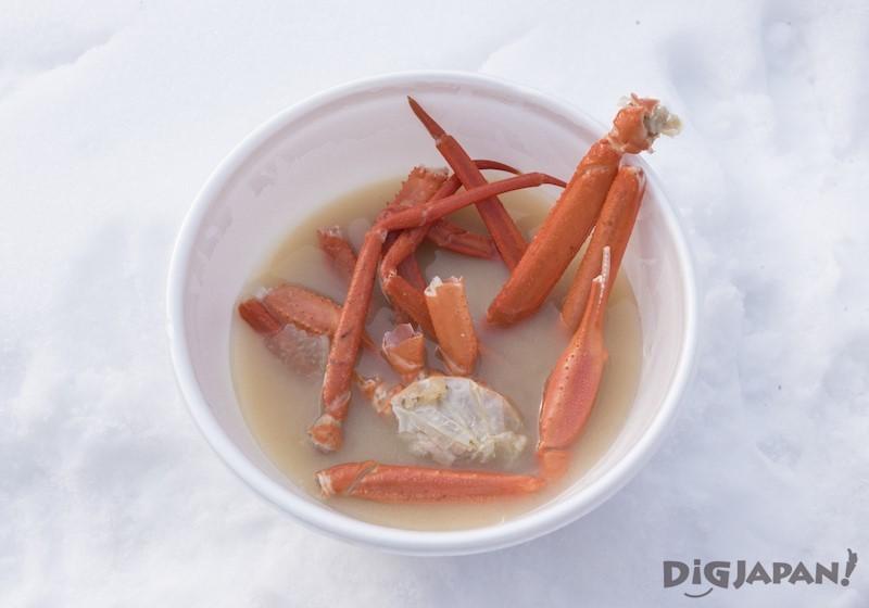 大通會場 螃蟹湯