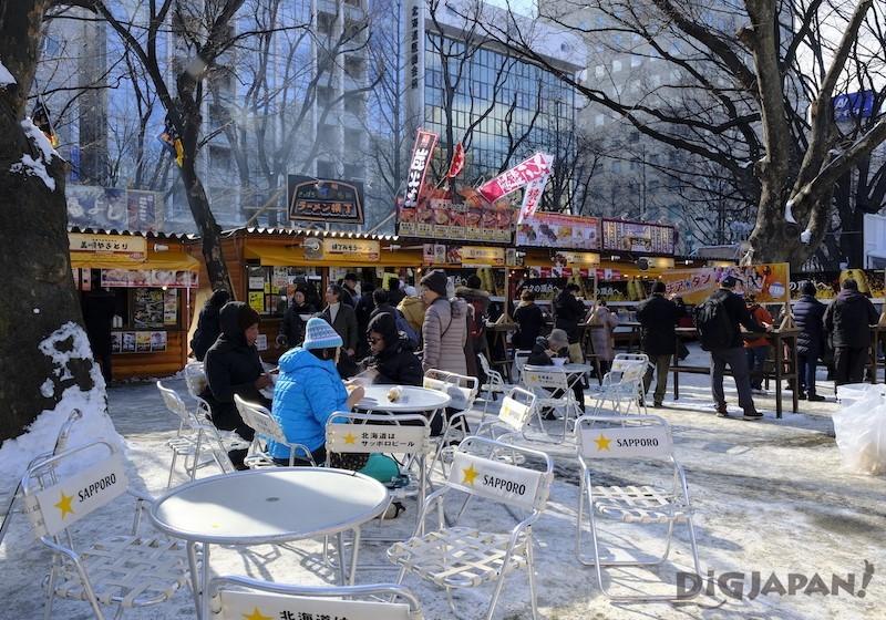 大通會場 北海道食廣場