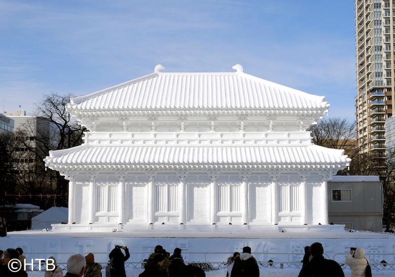 札幌雪祭著名建物