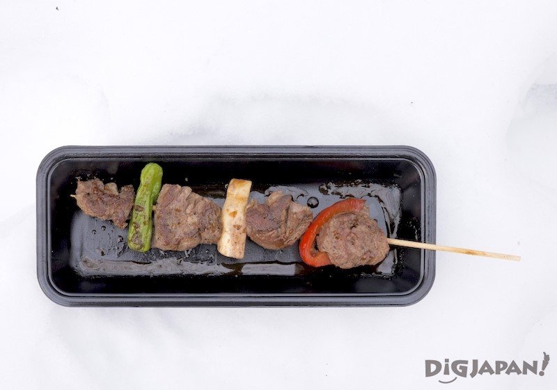 大通會場 蝦夷鹿串烤