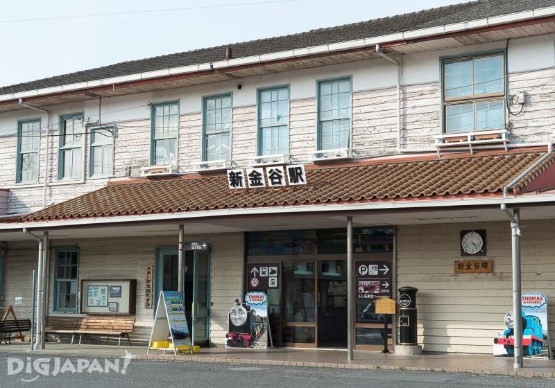 大井川鉄道新金谷駅外観
