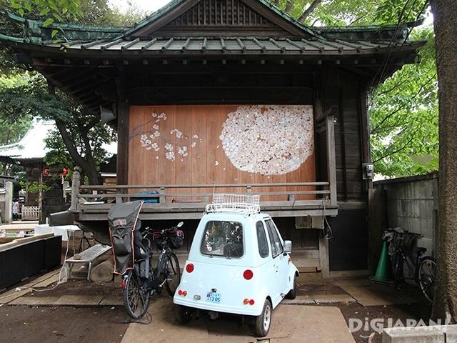 户越八幡神社