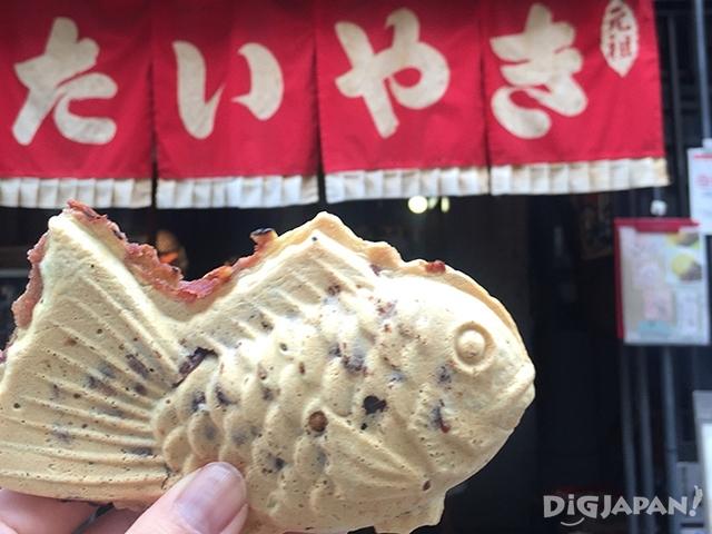 浪花家被称为鲷鱼烧的鼻祖