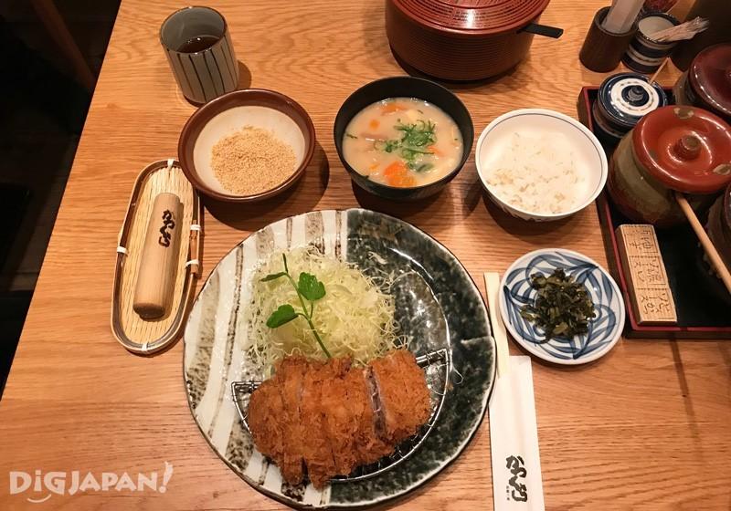 三元豚ヒレかつ膳(三元豚炸腰內肉定食)