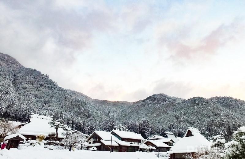 京都美山雪灯廊自然美景2