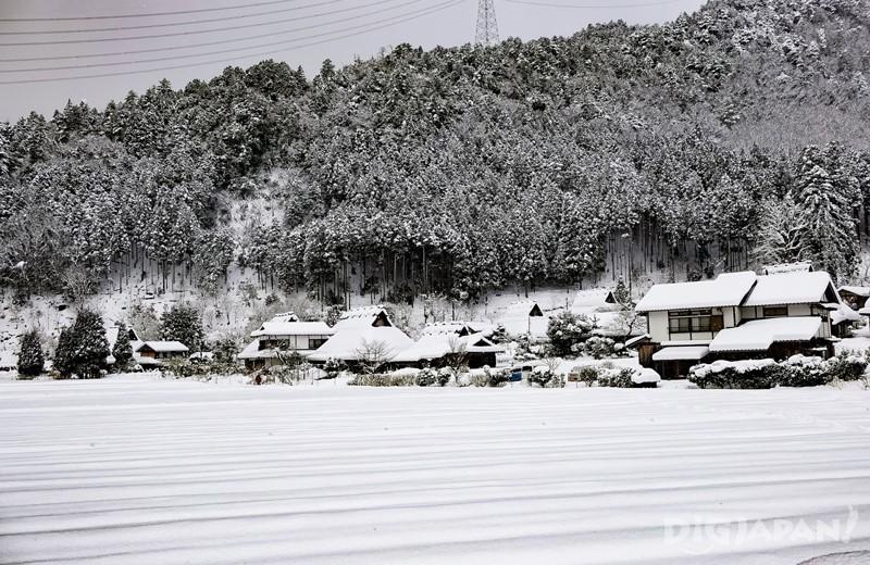 京都美山雪燈廊部落
