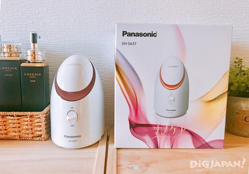 Panasonic奈米離子蒸臉美顏器EH-SA37