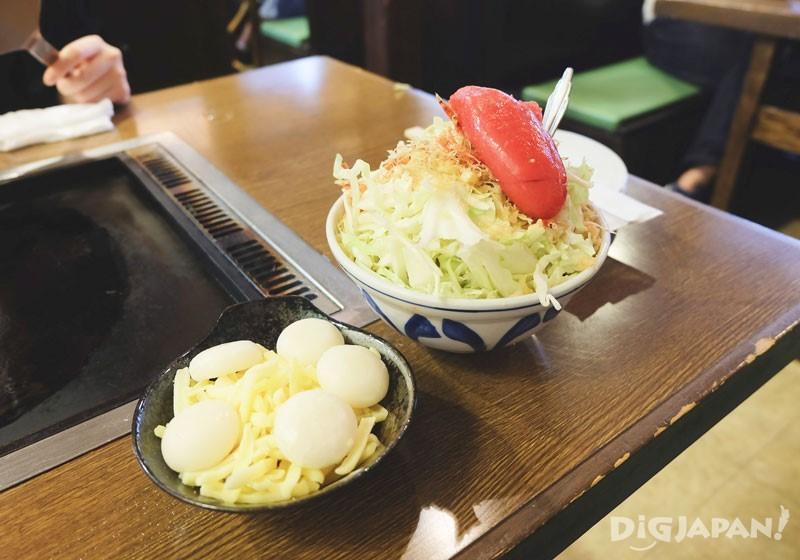 Mentaiko Cheese Mochi ¥1630