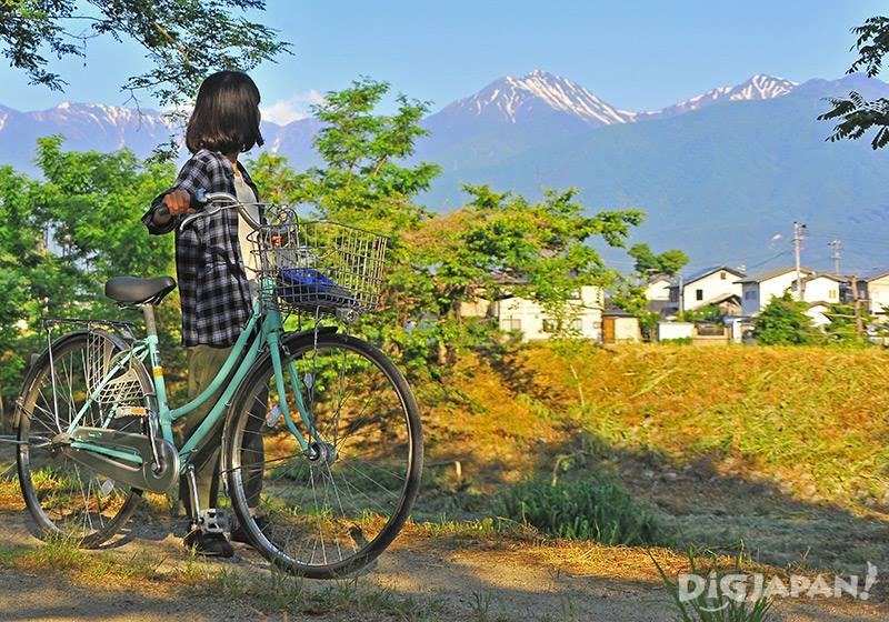 Explore the Azumino Town Area by Bicycle
