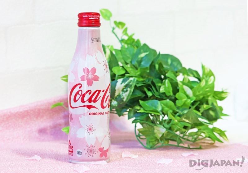 可口可樂 鋁瓶裝2018年櫻花限定款