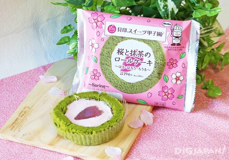 櫻花和抹茶蛋糕卷~haru・haro・rouru