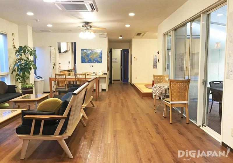 别馆二楼共有空间的一角有日式塌塌米