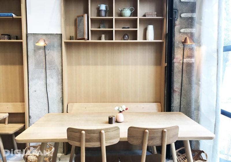 開化堂咖啡店內