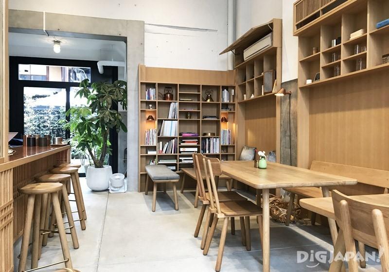 開化堂咖啡店內2F1