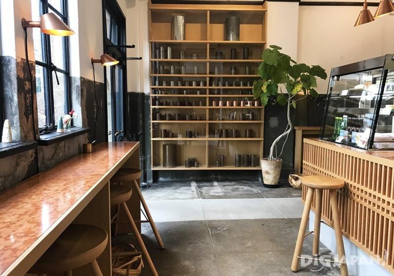 開化堂咖啡店內2F2