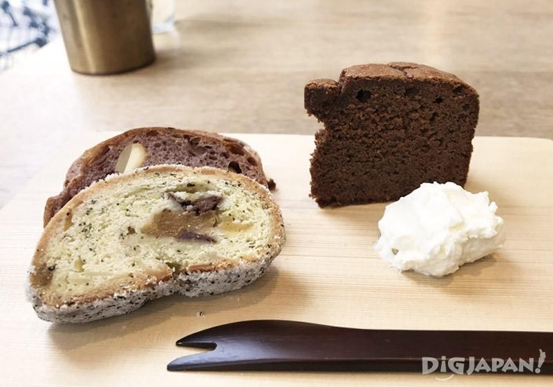 HANAKAGO麵包拼盤