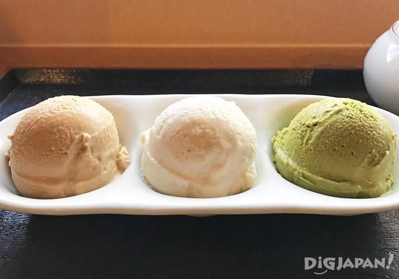 三个黄豆粉系列冰淇淋组合2