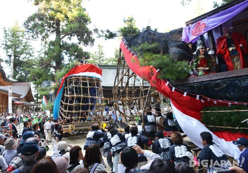 穗高神社御船祭