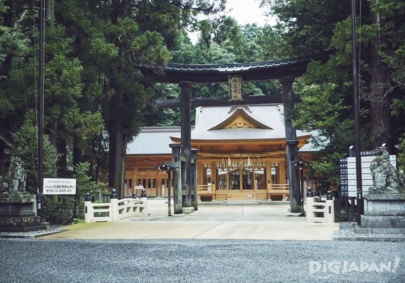 穗高神社 本殿