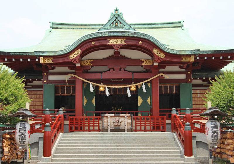 龜戶天神社1