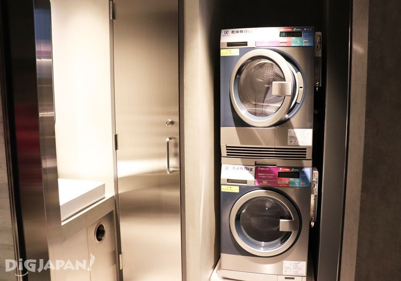 Laundry room, very convenient for long stay