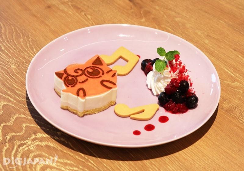 プリンがうたう♪チーズケーキ