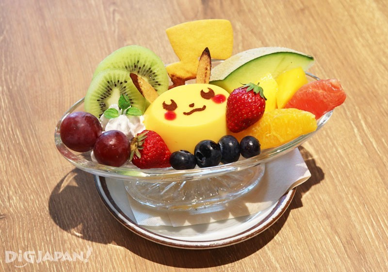 Pikachu Pudding a la Mode