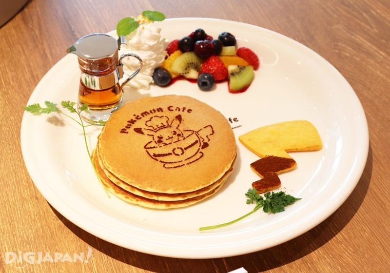Pokémon Cafe Fruit Pancake