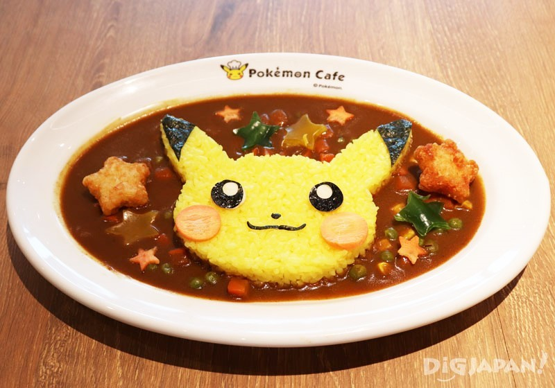 Cheerful Pikachu Curry