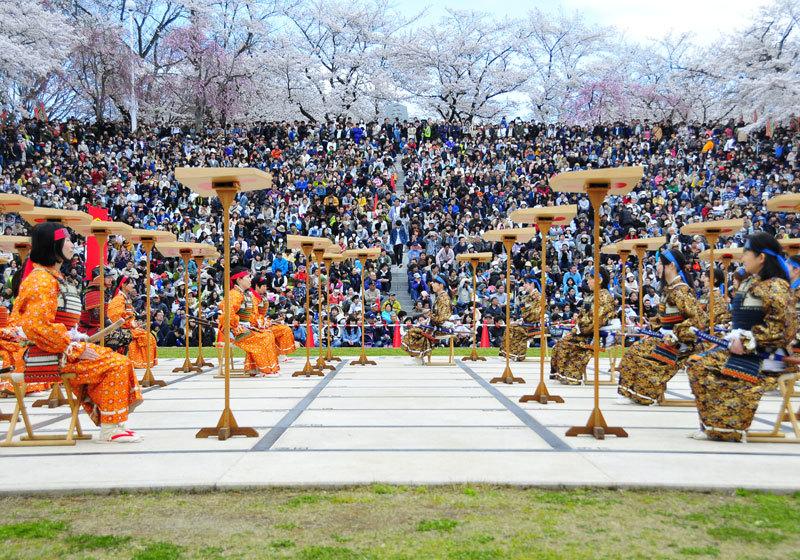 山形县天童樱花祭2