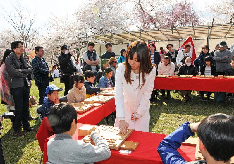 山形县天童樱花祭3