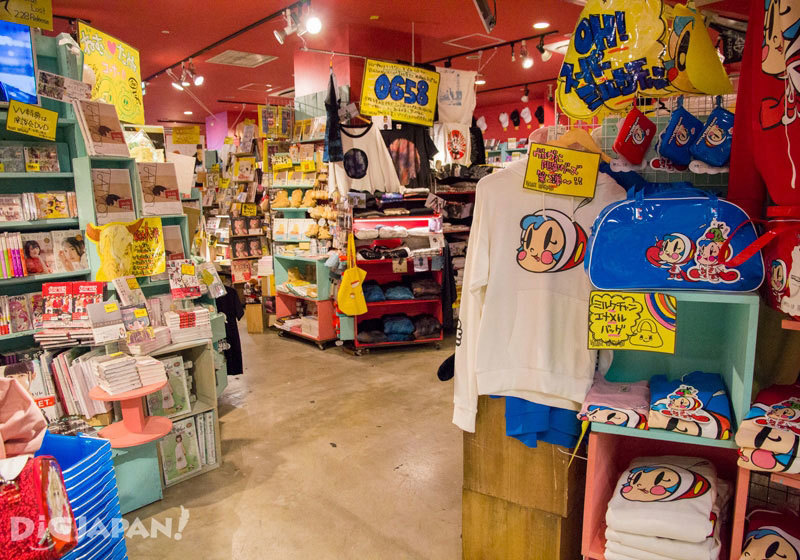 Village Vanguard Shibuya Store眾多商品