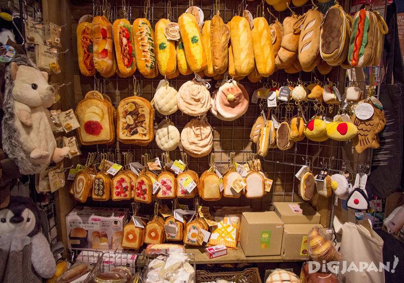 以麵包為主題的包包和盒子