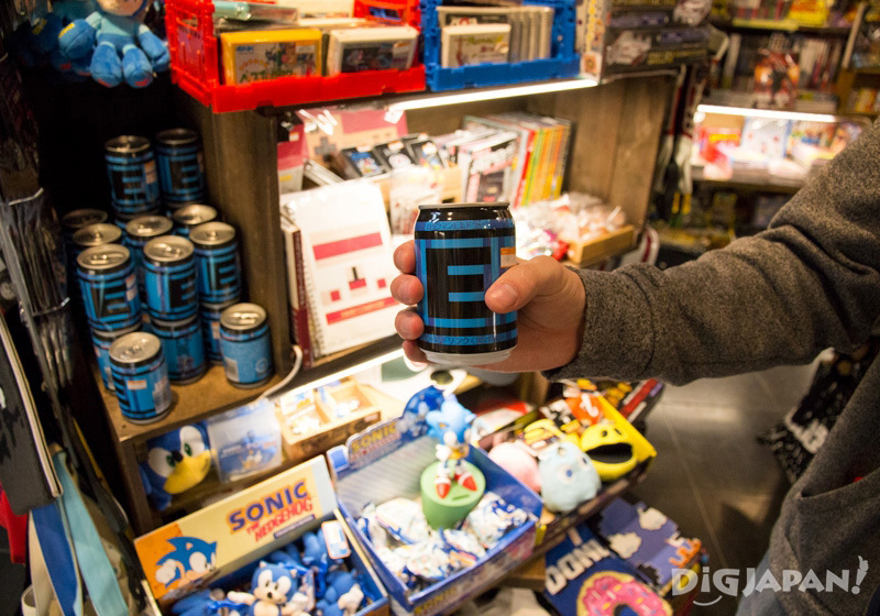 Megaman E tank drink at Village Vanguard