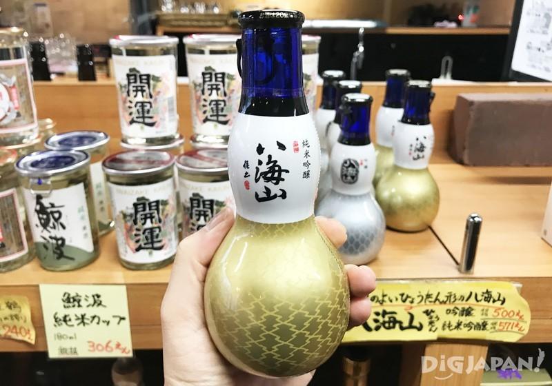 八海山纯米吟酿葫芦瓶
