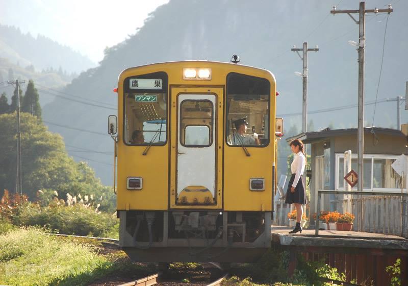 「你的名字。」電影中場面造成話題的前田南站