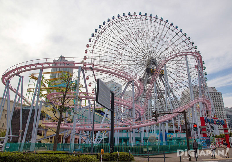 Yokohama Cosmoworld Amusement Park