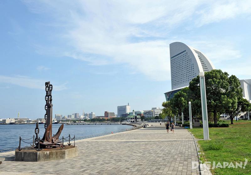 Rinko Park in Yokohama