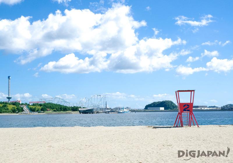 Marine Park and Beach, Yokohama