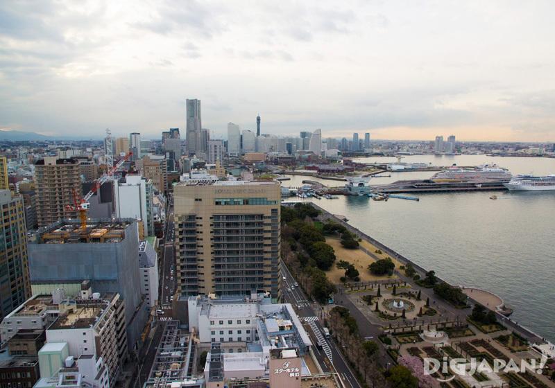 View from the Marine Tower in Yokohama