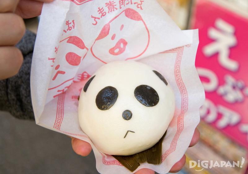 Pandaman - Steet Food in Yokohama Chinatown (Chukagai)