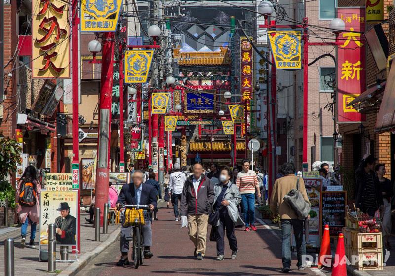 Yokohama Chinatown (Chukagai)