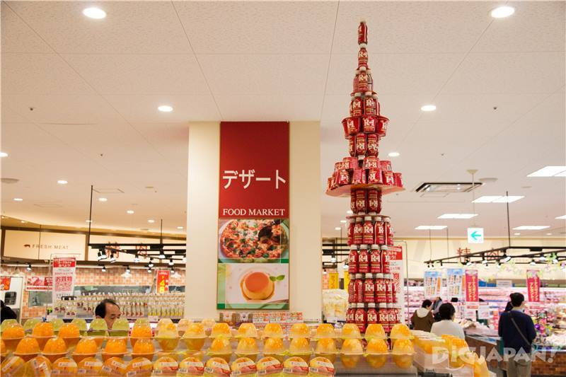 The store has a Skytree model exhibit! How adorable