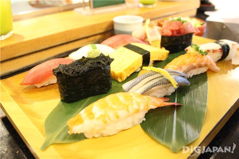 Tairyo lunch 918 เยน (ราคารวมภาษี)