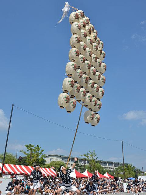 秋田竿燈祭5
