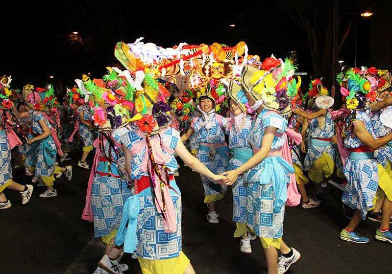 Aomori Nebuta Festival - Haneto dancers