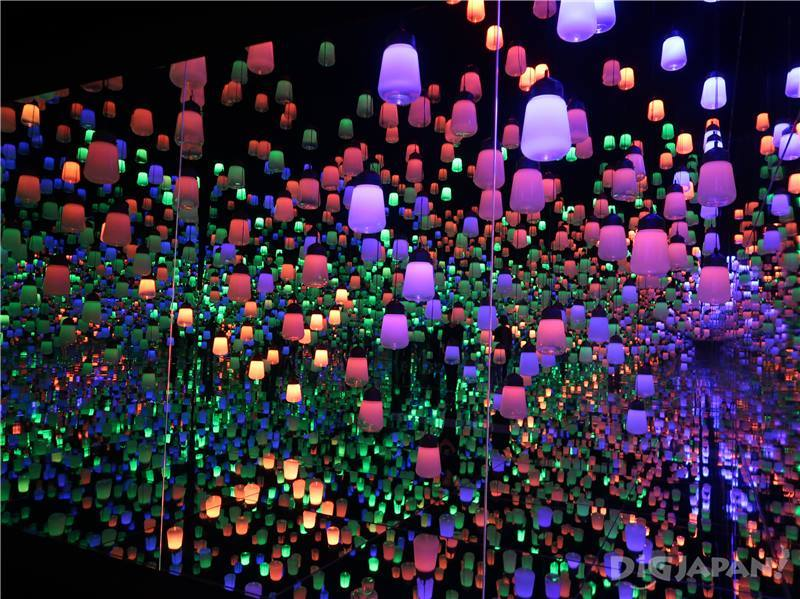 teamLab Forest of Lamps