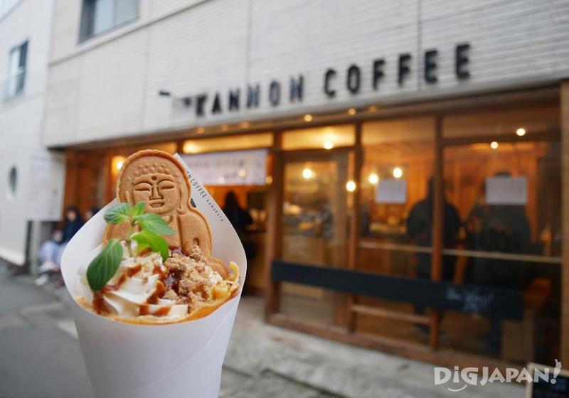 Daibutsu Crepe at Kannon Coffee Kamakura